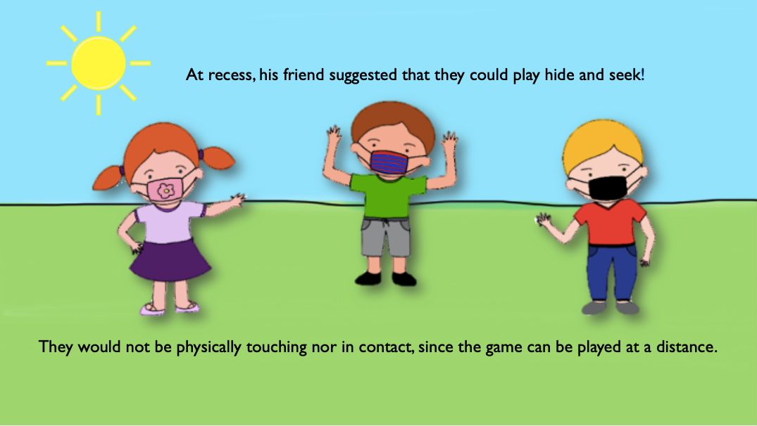Students playing during recess